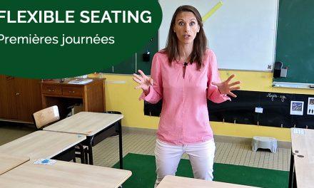 Premières journées en mode «Flexible Seating»