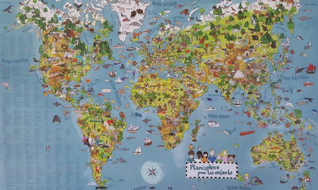 Planisphère pour les enfants