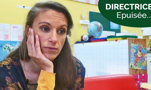 Maîtresse + Directrice d'école = Rentrée épuisante !