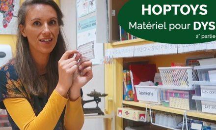 HOPTOYS matériel pour élèves Dyspraxiques